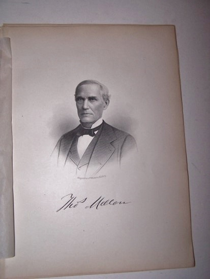 Image for THOS. MELLON  [Steel Engraved Portrait]