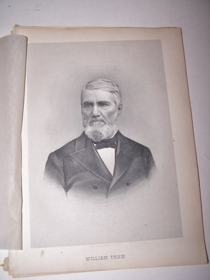 Image for WILLIAM THAW  [Steel Engraved Portrait]
