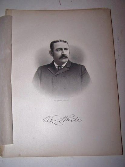 Image for T. L. WHITE  [Steel Engraved Portrait]