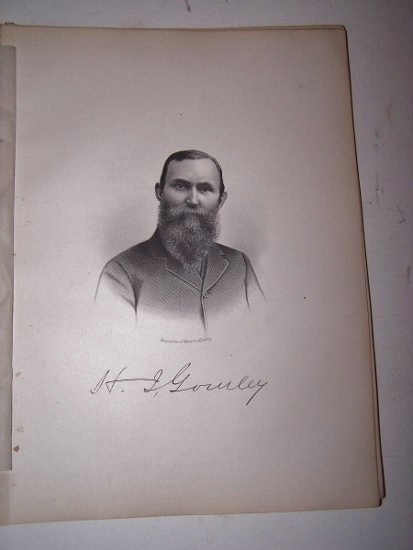 Image for H. I. GOURLEY  [Steel Engraved Portrait]