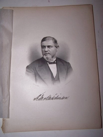 Image for F. M. HUTCHINSON  [Steel Engraved Portrait]