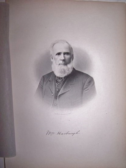 Image for WILLIAM HARBAUGH  [Steel Engraved Portrait]