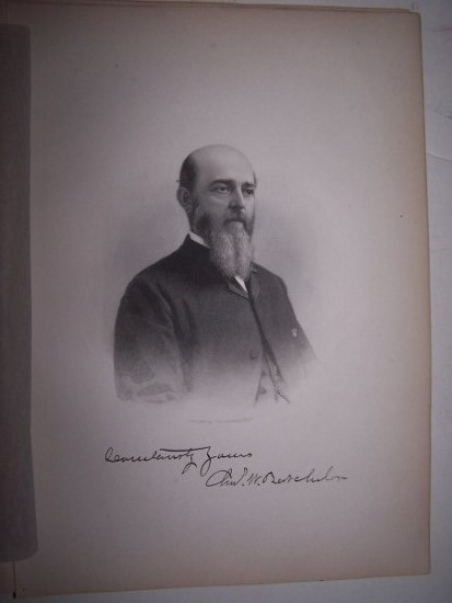 CHARLES W. BATCHELOR  [Steel Engraved Portrait]