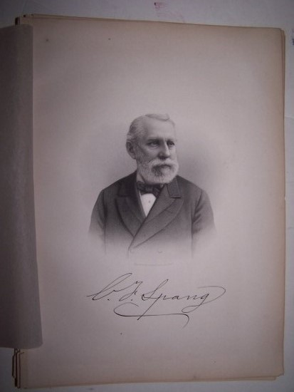 Image for CHARLES F. SPRANG  [Steel Engraved Portrait]