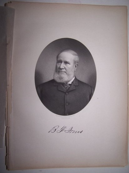 Image for B. F. JONES  [Steel Engraved Portrait]