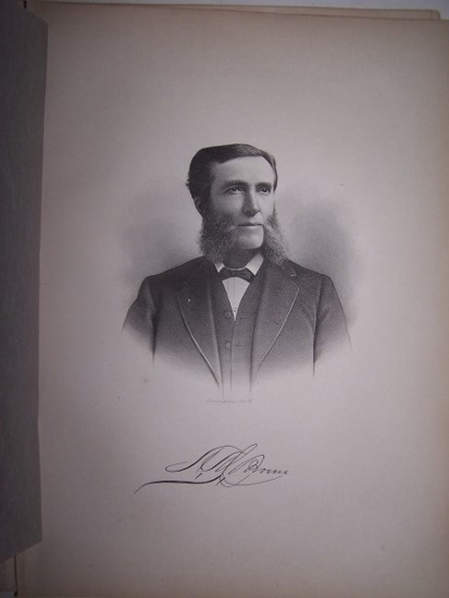 Image for ADAM MERCER BROWN  [Steel Engraved Portrait]