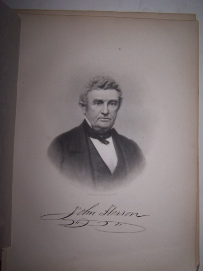 Image for JOHN HERRON  [Steel Engraved Portrait]
