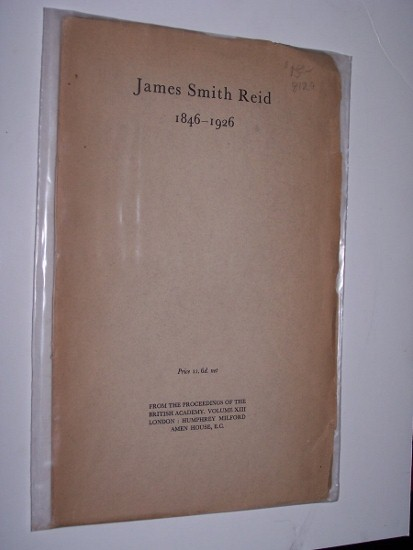 JAMES SMITH REID 1846-1926