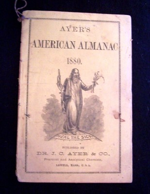 Image for AYER'S AMERICAN ALMANAC 1880