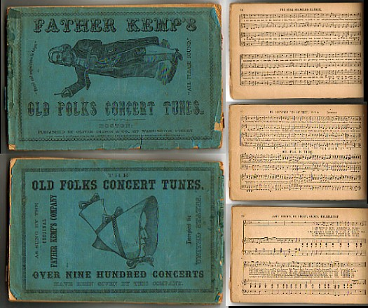 Image for FATHER KEMP'S OLD FOLKS CONCERT TUNES