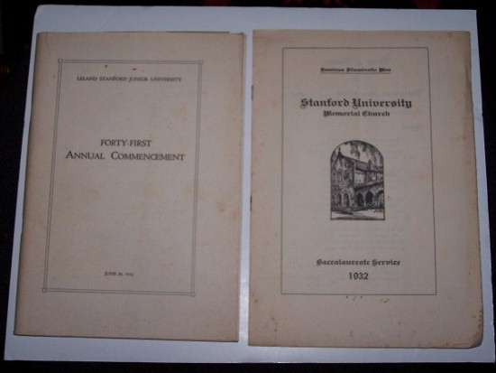 Image for FORTY-FIRST ANNUAL COMMENCEMENT - June 20, 1932
