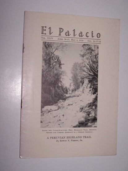 Image for EL PALACIO - Nos. 16, 17, 18 -- A Peruvian Highland Trail