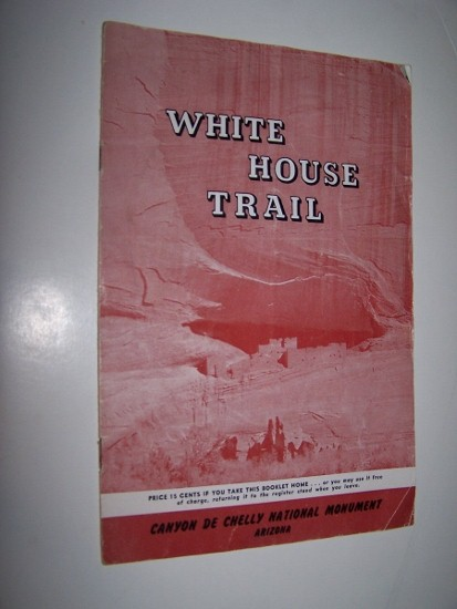 Image for WHITE HOUSE TRAIL GUIDE