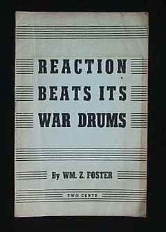 Image for REACTION BEATS ITS WAR DRUMS