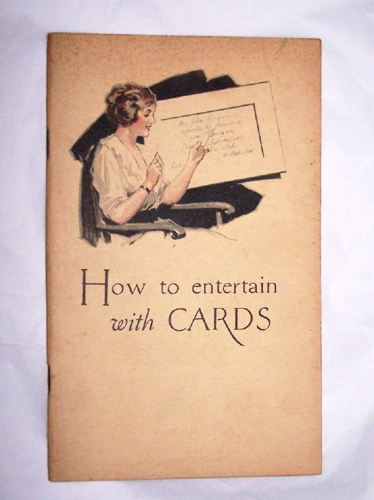 Image for HOW TO ENTERTAIN WITH CARDS  Private Parties, Public Parties, Social Clubs
