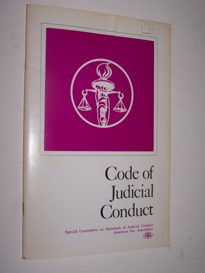 Image for CODE OF JUDICIAL CONDUCT