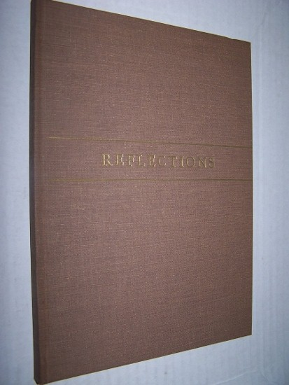 Image for REFLECTIONS  Writings by Edward Burnham Burling and Tributes by His Friends