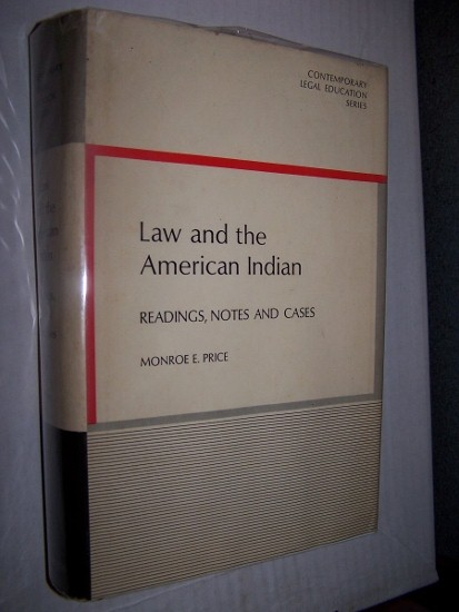 Image for Law and the American Indian -  Readings, Notes and Cases