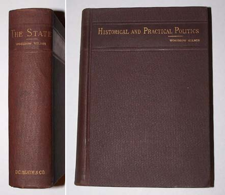 Image for THE STATE - Elements of Historical and Practical Politics  A Sketch of Institutional History and Administrations