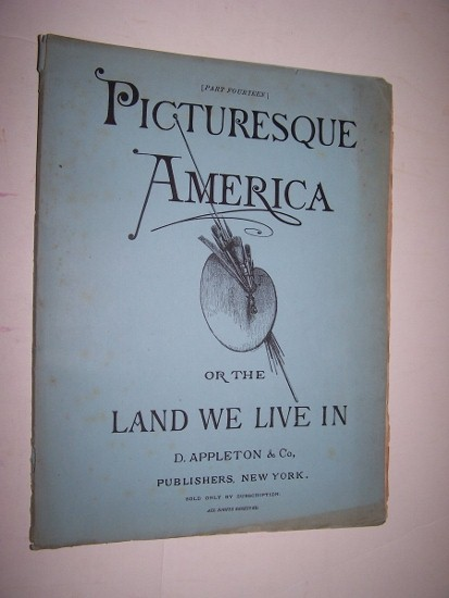Image for PICTURESQUE AMERICA, OR THE LAND WE LIVE IN - Part 14 with Steel Engraving of City of Louisville