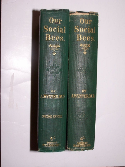 Image for Our Social Bees, or, Pictures of Town & Country Life, and Other Papers. with  Our Social Bees ... Second Series (Two Volume Set)