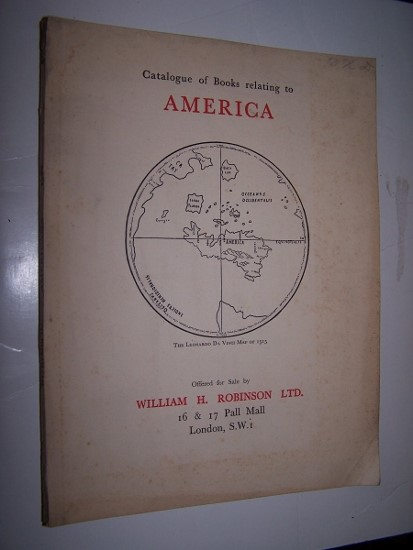 Image for Books Relating to America Catalogue No. 41. 1933