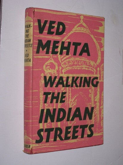 Image for WALKING THE INDIAN STREETS