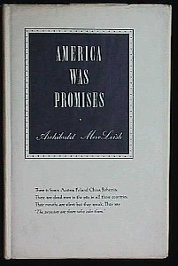 Image for AMERICA WAS PROMISES