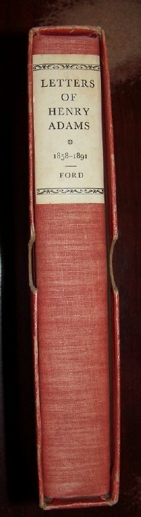 Image for LETTERS OF HENRY ADAMS 1858-1891 [ Limited Edition ]