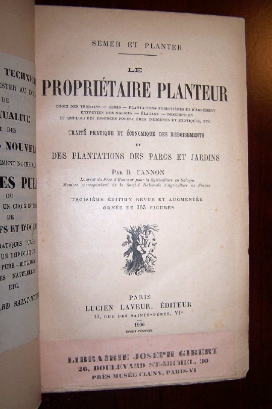 Image for LE PROPRIETAIRE PLANTEUR
