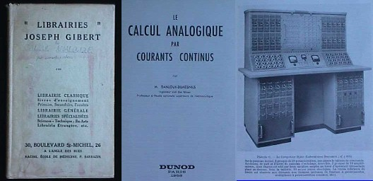 Image for LE CALCUL ANALOGIQUE PAR COURANTS CONTINUS