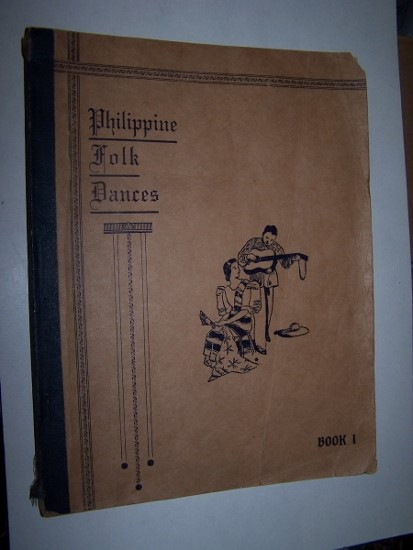 Image for Philippine Folk Dances Book 1 -- Collected and Arranged by Francisca R. Tolentino