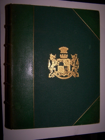 Image for BRITISH VEGETABLE GALLS in attractive leather binding