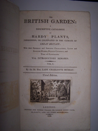 Image for THE BRITISH GARDEN: A DESCRIPTIVE CATALOGUE OF HARDY PLANTS INDIGENOUS, OR CULTIVATED IN THE CLIMATE OF GREAT BRITAIN in two volumes