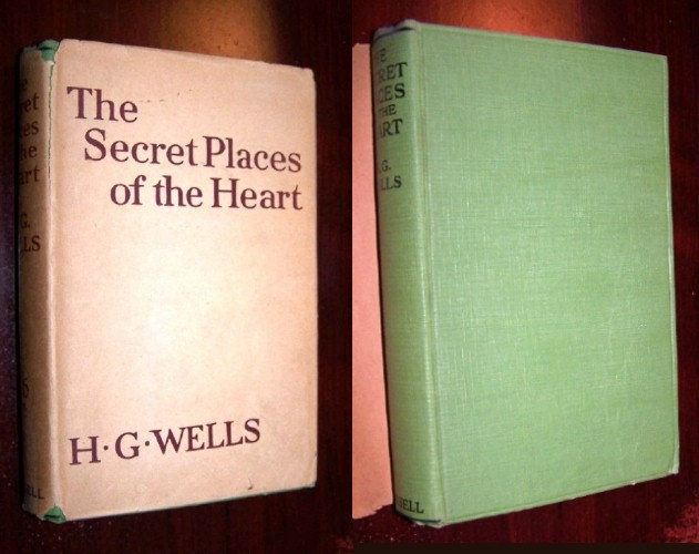 Image for THE SECRET PLACES OF THE HEART (First Edition in scarce dustjacket)