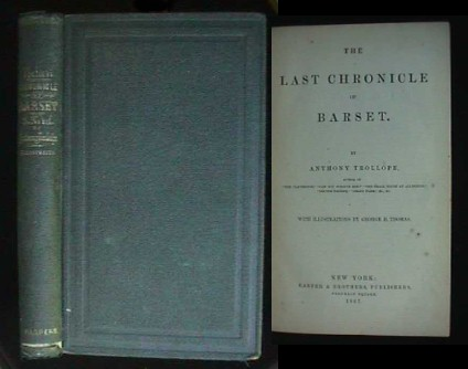 Image for THE LAST CHRONICLE OF BARSET