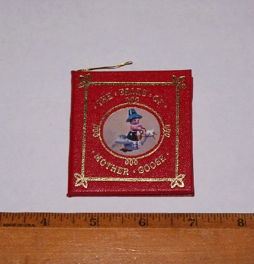 Image for THE TALES OF MOTHER GOOSE - A Miniature Book