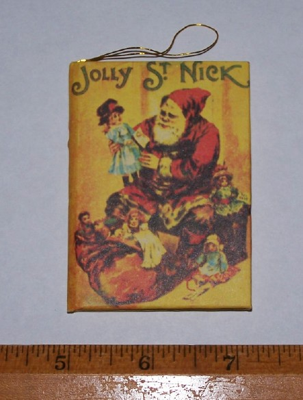 Image for JOLLY ST. NICK - A MINIATURE BOOK