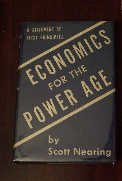 Image for ECONOMICS FOR THE POWER AGE - A Statement on First Principles