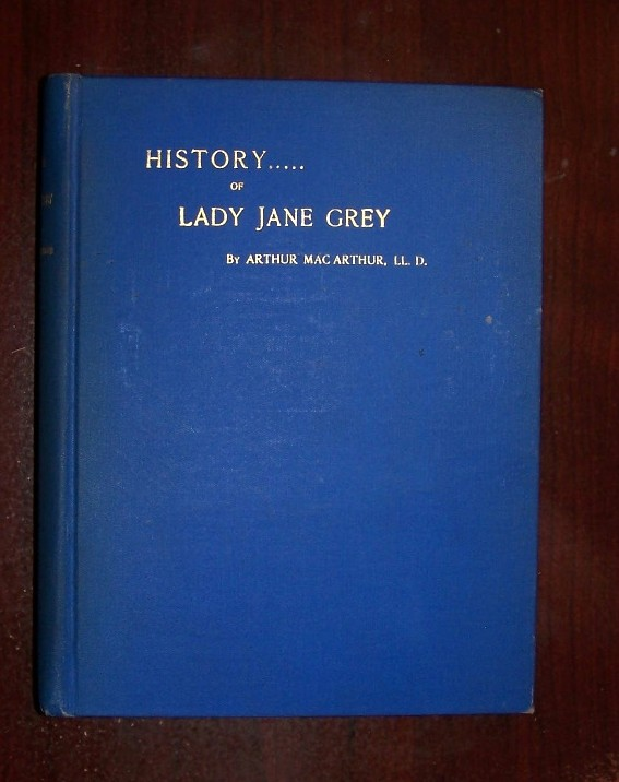 Image for HISTORY OF LADY JANE GREY