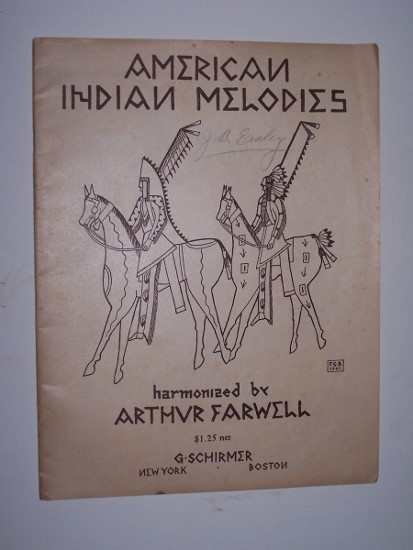 Image for American Indian Melodies Edited and Arranged for the Piano (Op. 11) with Introduction by Arthur Farwell