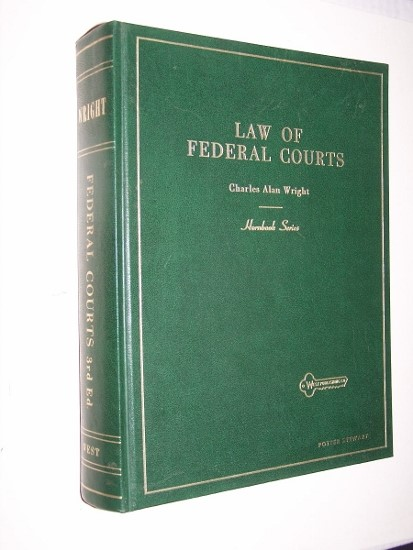 Image for HANDBOOK OF THE LAW OF FEDERAL COURTS