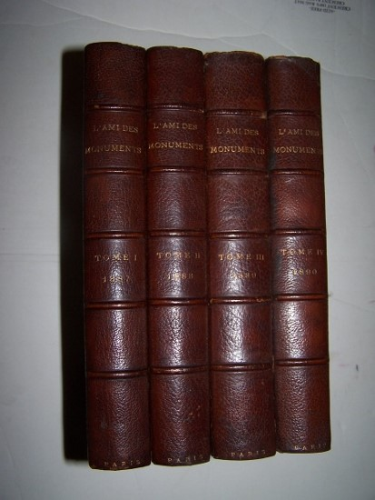 Image for L'AMI DES MONUMENTS - Volumes 1, 2, 3, and 4