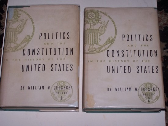 Image for POLITICS AND THE CONSTITUTION IN THE HISTORY OF THE UNITED STATES in Two Volumes