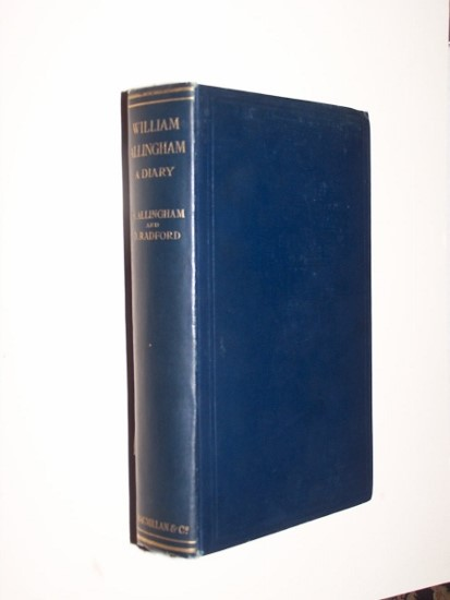 Image for WILLIAM ALLINGHAM - A Diary