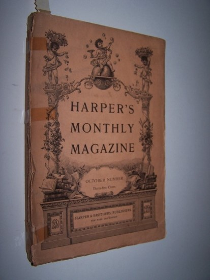 "Image for Harper's Monthly Magazine - October Number, 1908 including ""Home Life of the Eskimo"""