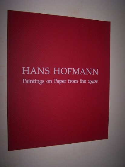 Image for HANS HOFMANN -  Paintings on Paper From the 1940s