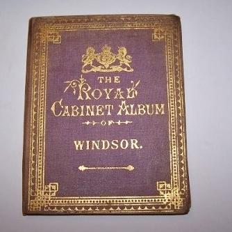Image for THE ROYAL CABINET ALBUM OF WINDSOR