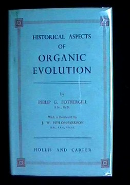 Image for HISTORICAL ASPECTS OF ORGANIC EVOLUTION