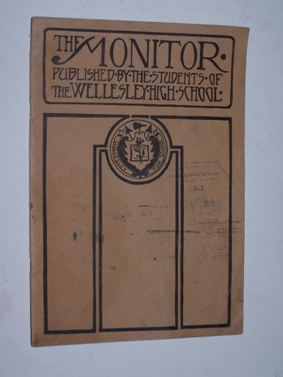 Image for The Wellesley High School Monitor Vol. 8.  No. 3.  April, 1924